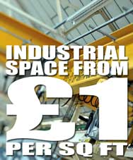 Industrial Space from 1 pound